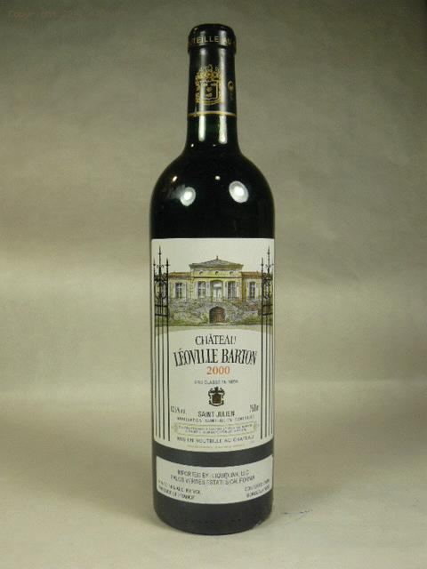 2000 Leoville-Barton  Bordeaux BlendWA:95WE:96ST:94WS:97