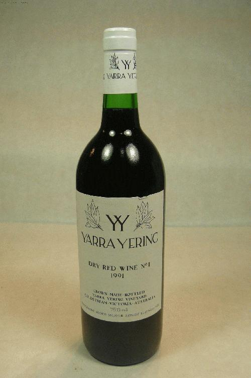 1991 Yarra Yering Dry Red No 1 (Bordeaux Blend) Bordeaux Blend