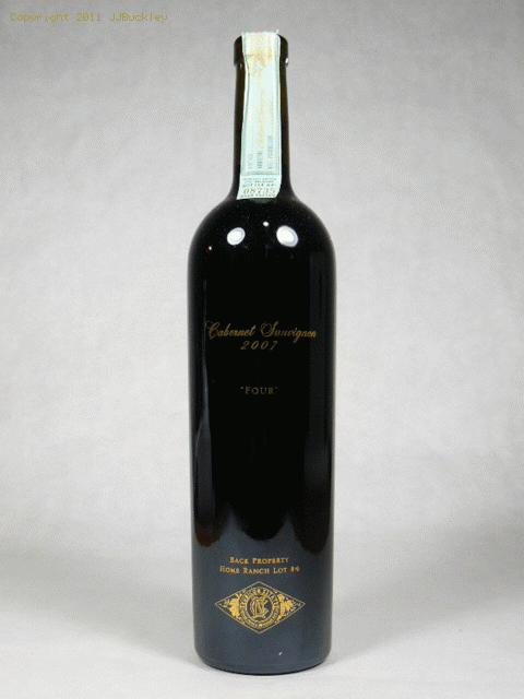 2007 Rubicon Estate Cabernet Sauvignon Four Home Ranch Lot 4 Cabernet Sauvignon