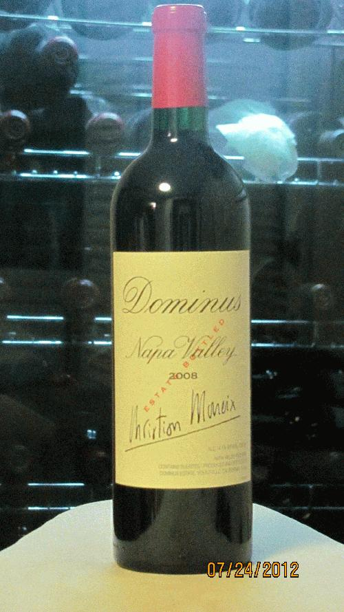 2008 Dominus Proprietary Red Wine Napa - 99 RP