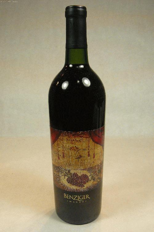 1995 Benziger Imagery Series Sangiovese Sangiovese