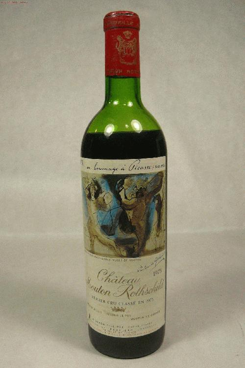 1973 Mouton-Rothschild  Bordeaux Blend