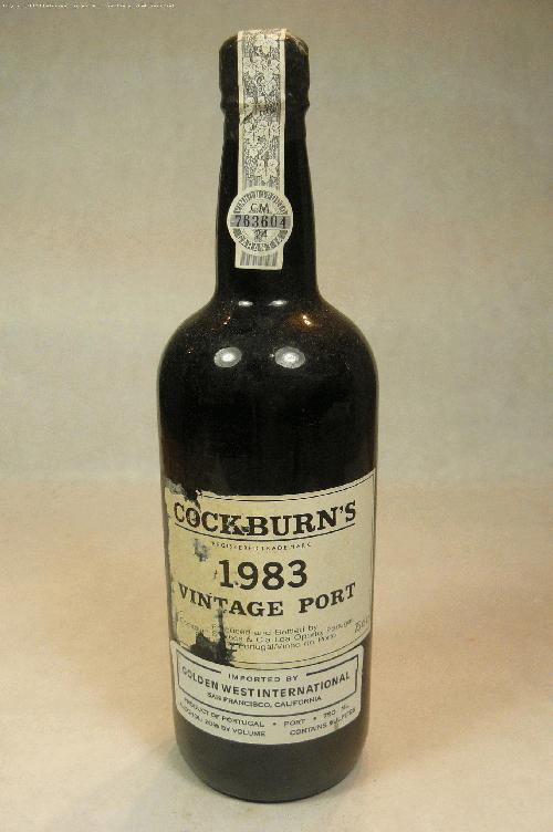 1983 Cockburn Vintage Port PortWA:95WS:97
