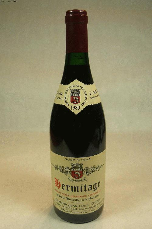 1989 Chave, J L Hermitage SyrahWA:95ST:90
