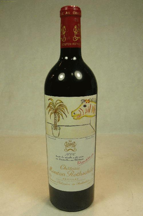 2006 Mouton-Rothschild  Bordeaux BlendST:96WS:94WA:98