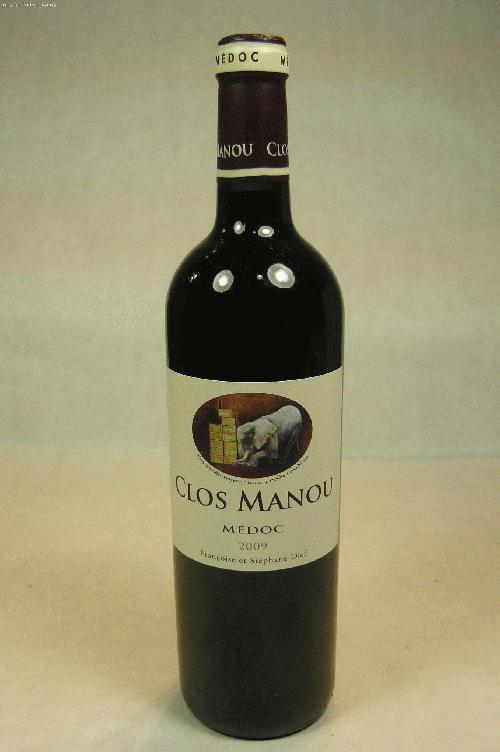 2009 Clos Manou  Bordeaux BlendWA:91