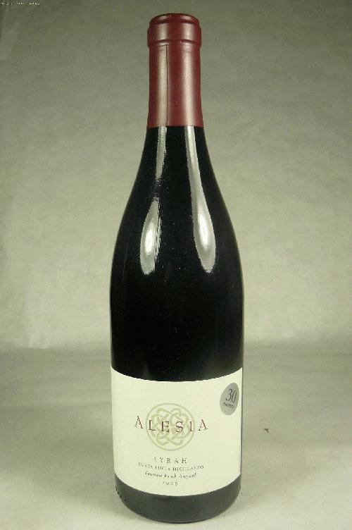 2006 Alesia Syrah Fairview Ranch Vineyard SyrahST:90