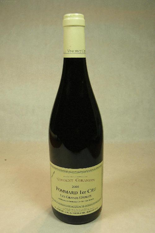 2005 Vincent Girardin Pommard Grands Epenots Vieilles Vignes Pinot Noir