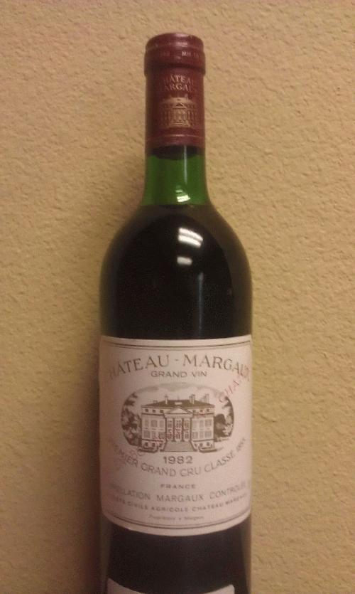 1982 Margaux, Chateau *** PARKER 100 PTS (Hedonist's Gazette)!!!! *** THE Bordeaux vintage at $1 start and NO RESERVE!!!! *** One of the best, period *******