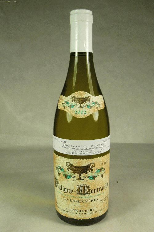 2002 Domaine Coche-Dury Puligny Montrachet Enseignieres Chardonnay