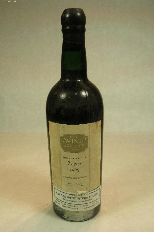 1963 Taylor Vintage Port PortWS:97WA:95