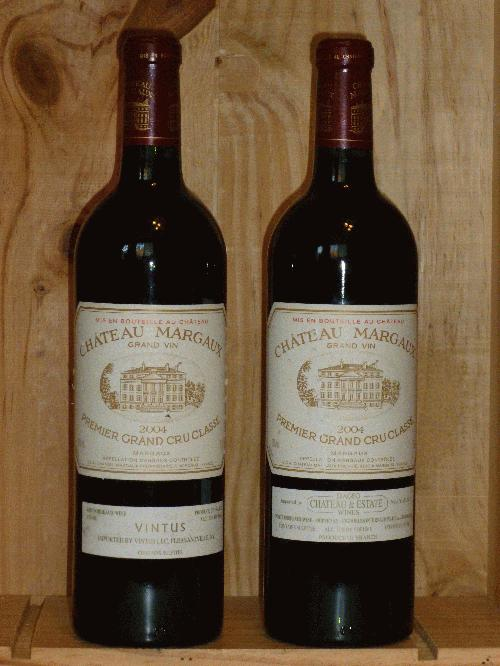2004 Margaux, Chateau   **  WE96 ST94 WS93 POINTS  **   3  PERFECT BOTTLES AVAILABLE  **