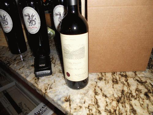 2008 Araujo Estate Cabernet Sauvignon Eisele Vineyard Napa 97+POINTS RP $ Range-$290-$375!! SEE MY OTHER LOTS