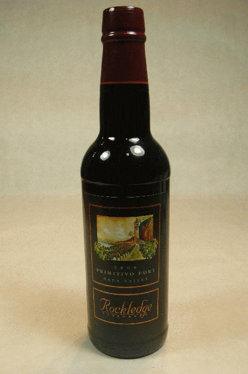2000 Rockledge  Primitivo Port Port 375ml
