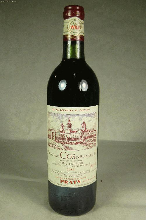 1983 Cos d'Estournel  Bordeaux BlendWS:91