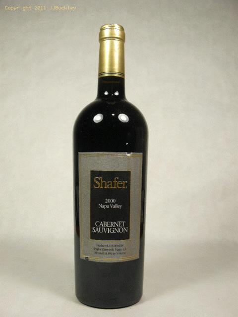 2000 Shafer Vineyards Cabernet Sauvignon Cabernet Sauvignon
