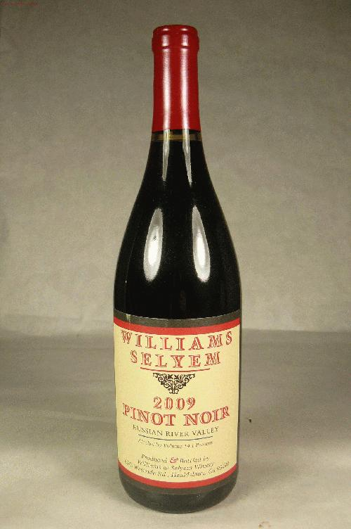 2009 Williams Selyem Pinot Noir Russian River Valley Pinot Noir