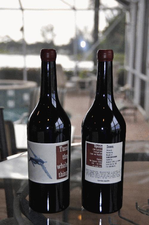 2009 Sine Qua Non Upside Down Grenache (2 Bottles) WA 94-96 FREE SHIPPING!!! Bid, OR Buy It For $410.