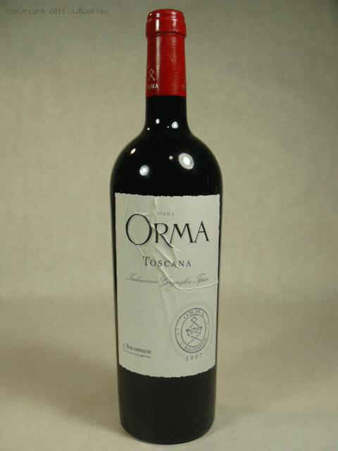 2007 Orma  Proprietary BlendWS:94WA:94ST:90