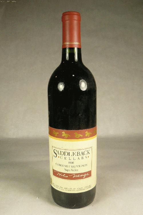 1996 Venge Vineyards (Saddleback Cellars) Cabernet Sauvignon Cabernet Sauvignon