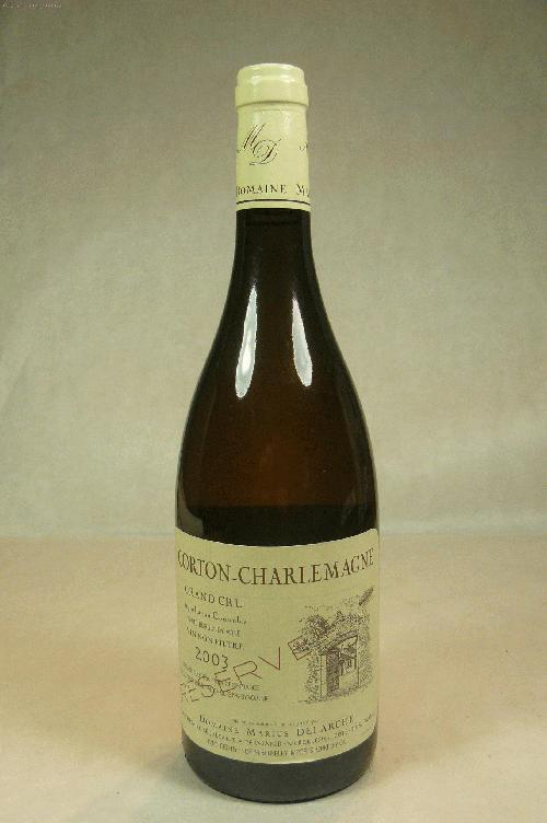 2003 Domaine Marius Delarche Corton Charlemagne Reserve Unfiltered Chardonnay