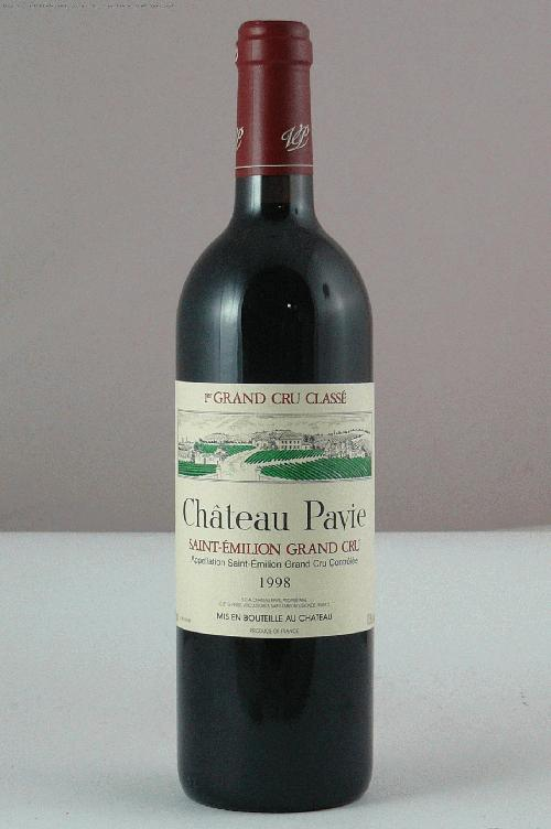 1998 Pavie  Bordeaux BlendWS:92ST:92WA:95