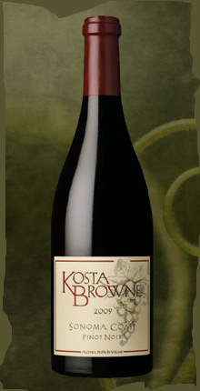 2009 Kosta Browne Sonoma Coast Pinot Noir 2btls (Wine Spectator 2011 Wine of the Year) and 2009 Russian River Pinot Noir 1 btl