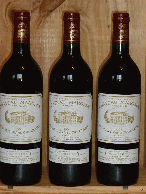 1994 Margaux, Chateau   **  3  PERFECT BOTTLES AVAILABLE  **  CELLARED SINCE RELEASE!!!