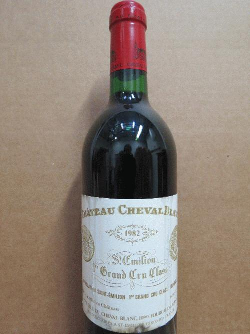 "1982 Cheval Blanc *** PARKER 100 PTS!!! *** RP: ""the greatest Cheval Blanc produced after the 1949..."" *** Best Bordeaux vintage period **************"