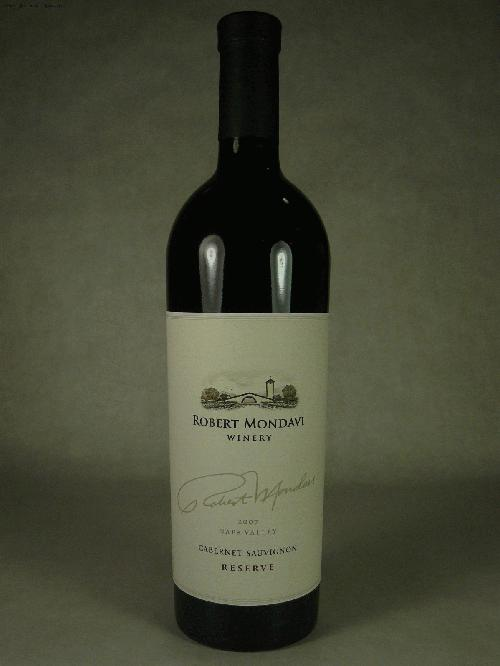 2007 Mondavi, Robert Cabernet Sauvignon Reserve Cabernet SauvignonWS:95ST:94WA:95