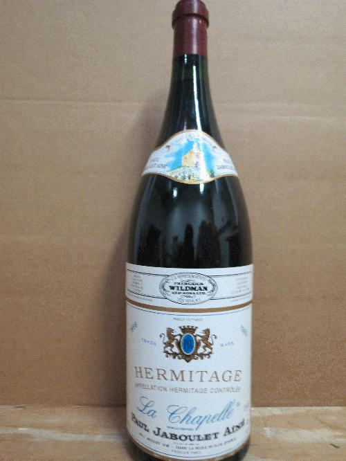 1999 Paul Jaboulet Aine Hermitage la Chapelle *** 3 liter *** EXTREMELY RARE - FIRST 3 LITER EVER ON THE COMMUNE!!! *** Don't miss your chance to purchase a showoff bottle **