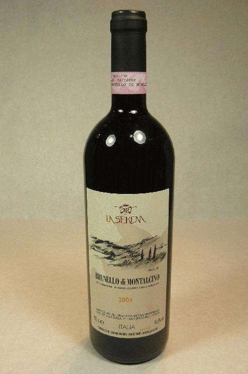 2004 La Serena Brunello di Montalcino Sangiovese GrossoWA:92WS:94