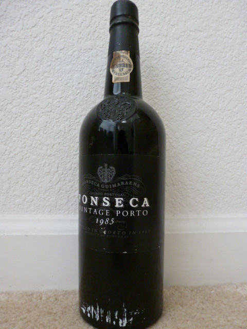 1985 Fonseca Vintage Port - 93 WS and starting at $1!