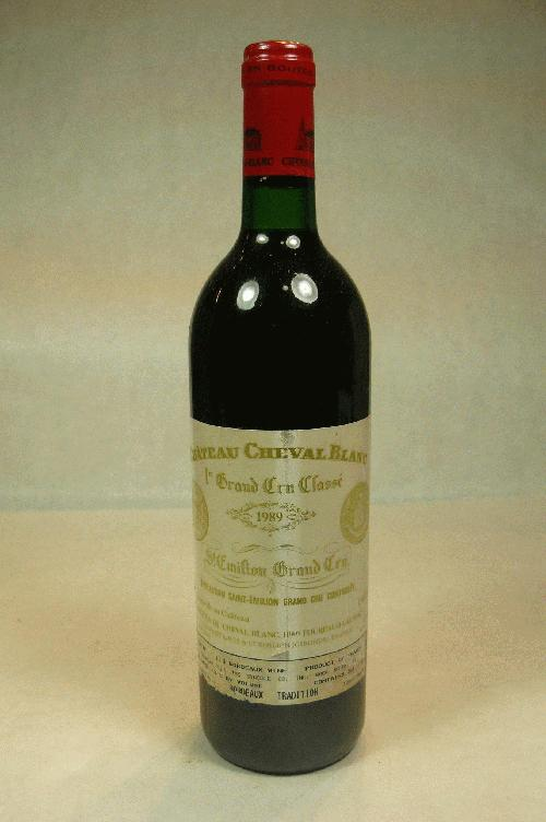 1989 Cheval Blanc  Bordeaux BlendWS:91