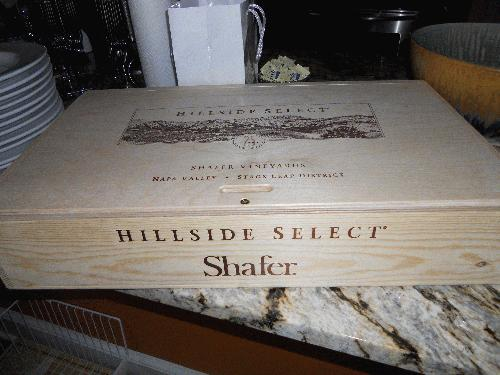 2005 Shafer Vineyards Cabernet Sauvignon Hillside Select Napa Stag's Leap District RP97POINTS 6 BOTTLES AVAILABLE/SEE MY OTHER LOTS