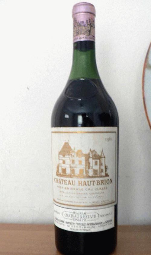 1961 Haut Brion Bordeau Pessac L�ognan Red Blend - 750ml. Bottle RP 100