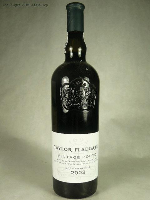 2003 Taylor Fladgate Vintage Port PortWE:97WS:94ST:93WA:98