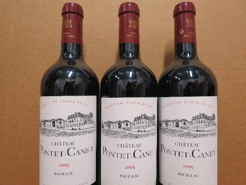 2009 Pontet-Canet *** Dutch lot of 3 *** PARKER 100 POINTS!!! *** 2009 - best vintage for wine ever!!!! *** Get it now before the price skyrockets!!!!!!!!!