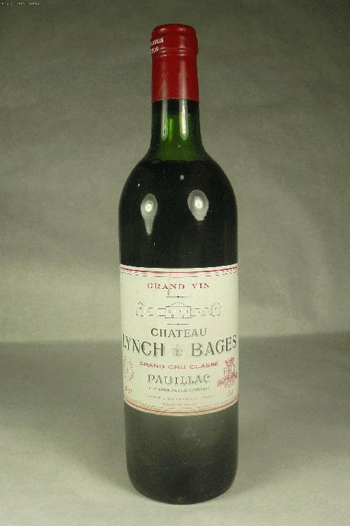 1983 Lynch Bages  Bordeaux BlendWS:90