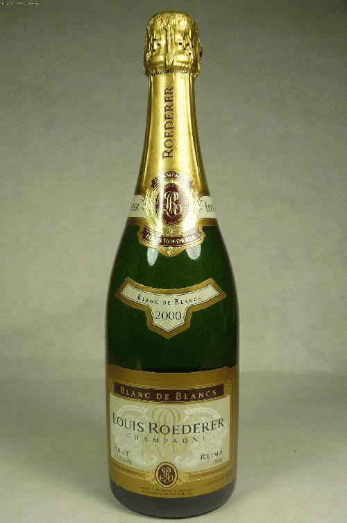 2000 Louis Roederer Blanc de Blancs Champagne BlendST:92