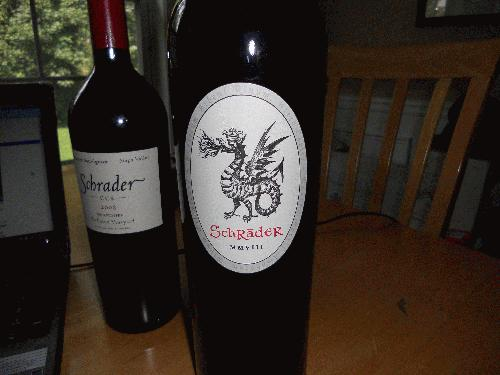 2009 Schrader Cellars Cabernet Sauvignon Old Sparky MAGNUM 97+POINTS/ SEE MY OTHER LOTS