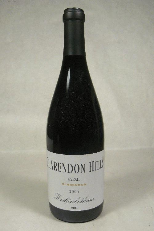 2004 Clarendon Hills Shiraz Hickinbotham Vineyard SyrahWS:95