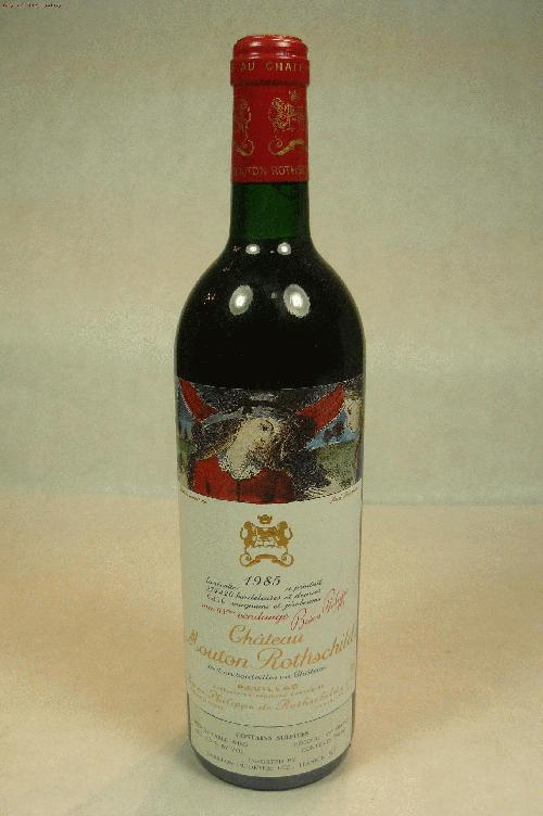1985 Mouton-Rothschild  Bordeaux BlendWA:90