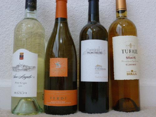 Four Bottles of Excellent Italian White - Perfect for Spring and Only $1 Start!