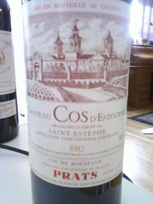 1982 Chateau COS D'Estournel Grand Cru