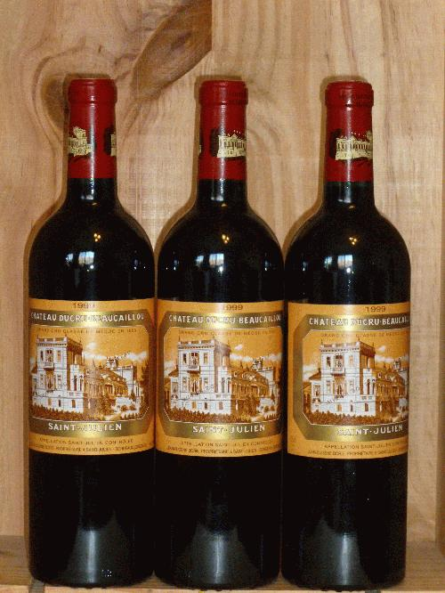 1999 Ducru Beaucaillou   **    NM92 RP91 ST91 POINTS  **   3  PERFECT BOTTLES AVAILABLE  **  FROM NEWLY-OPENED OWC