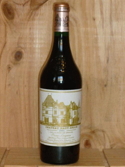 2001 Haut Brion   **  WS95 NM95 RP94 POINTS  **  3  PERFECT BOTTLES AVAILABLE  **  DRINKING GREAT NOW!!! 