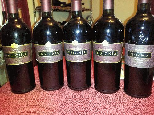 5 Year Vertical, Phelps, Joseph Insignia Proprietary Red Wine Napa