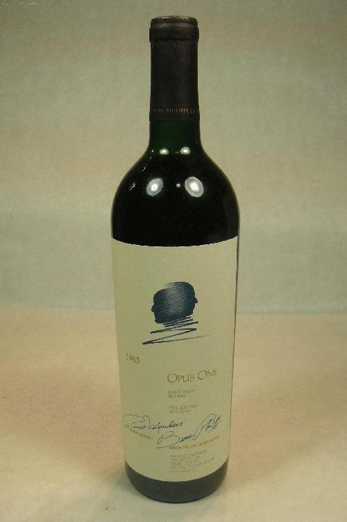 1983 Opus One Proprietary Red Wine Proprietary Blend