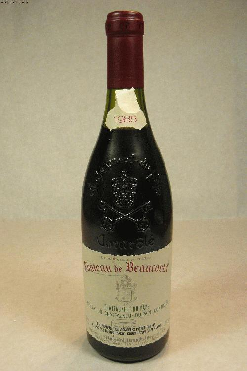 1985 Beaucastel, Chateau Chateauneuf du Pape Proprietary BlendWA:91WS:91